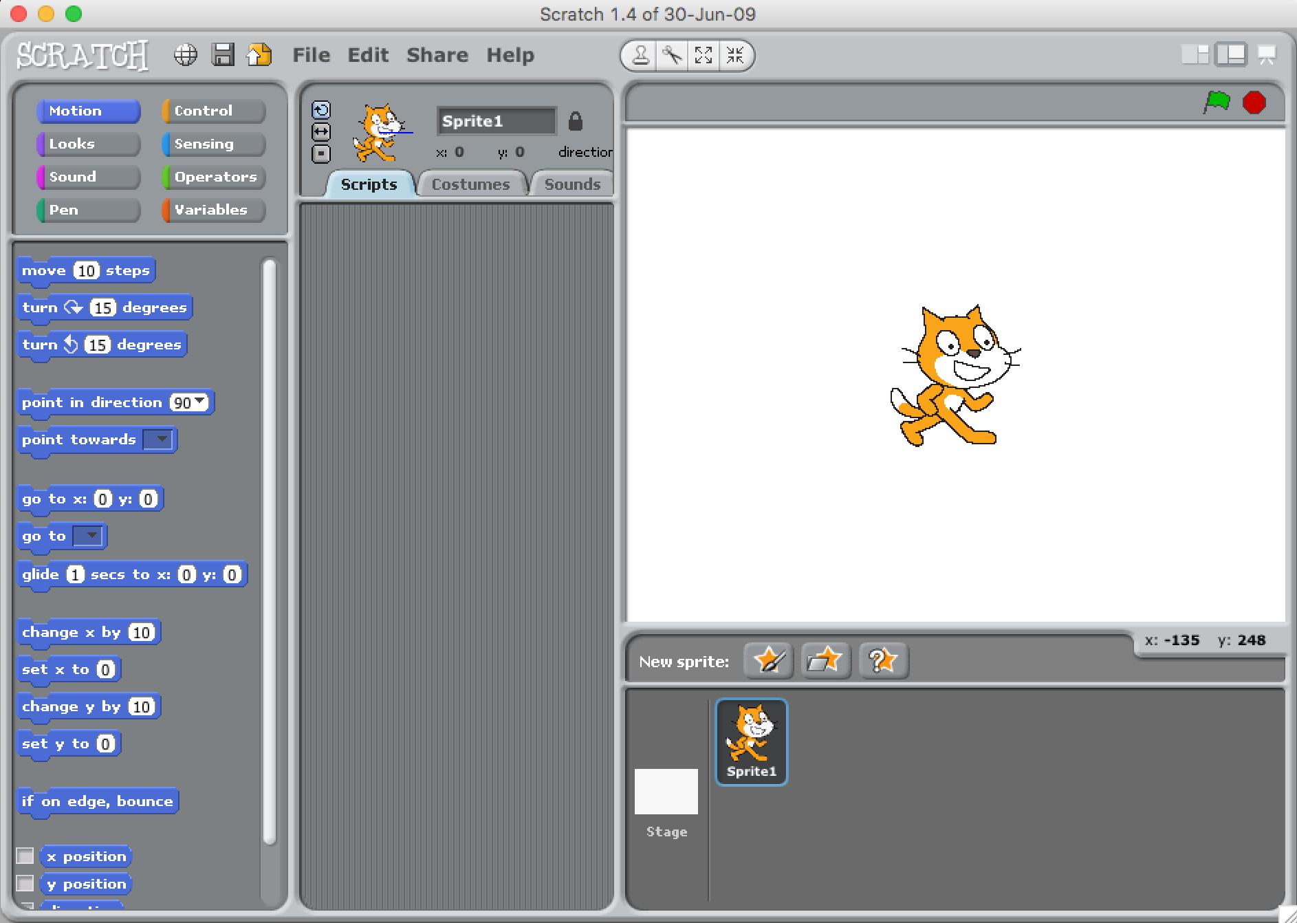 Scratch - Scratch Offline Editor